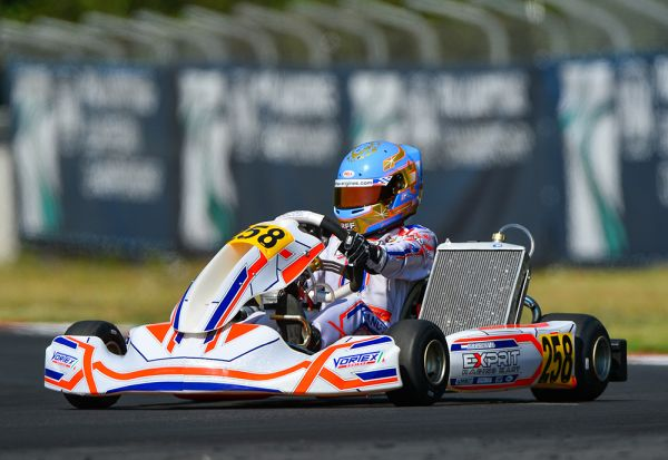 Exprit Kart collects the top 5 in Sarno