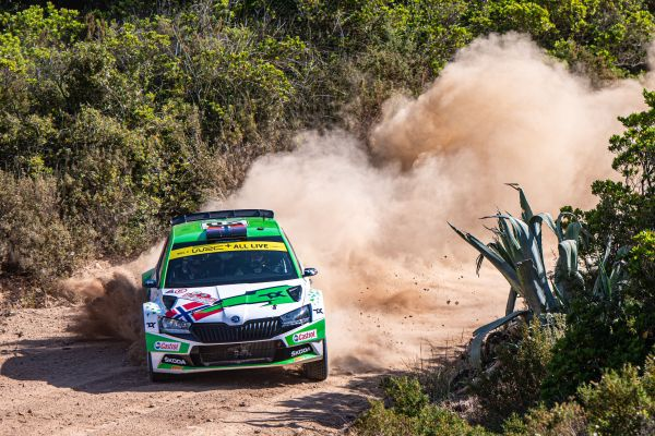 Rally Estonia: SKODA driver Andreas Mikkelsen wants to strengthen lead in WRC2 category