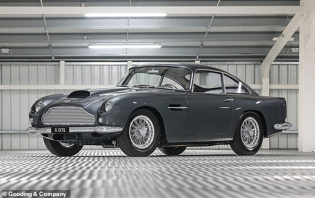 Fully restored, this left-hand-drive Aston Martin DB4 GT won't need much money spending on it
