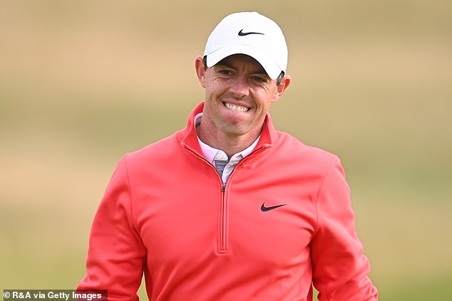 The Ulsterman appeared in good spirits as he looks to mount a challenge to the frontrunners