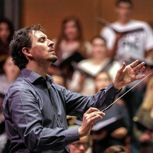 """Emanuele Andrizzi is the music director of the new Opera Festival of Chicago. Andrizzi conducts the festival's main stage productions of """"Il Segreto di Susanna"""" (""""Susannah's Secret"""") and """"Il tabarro"""" (""""The Cloak"""")."""