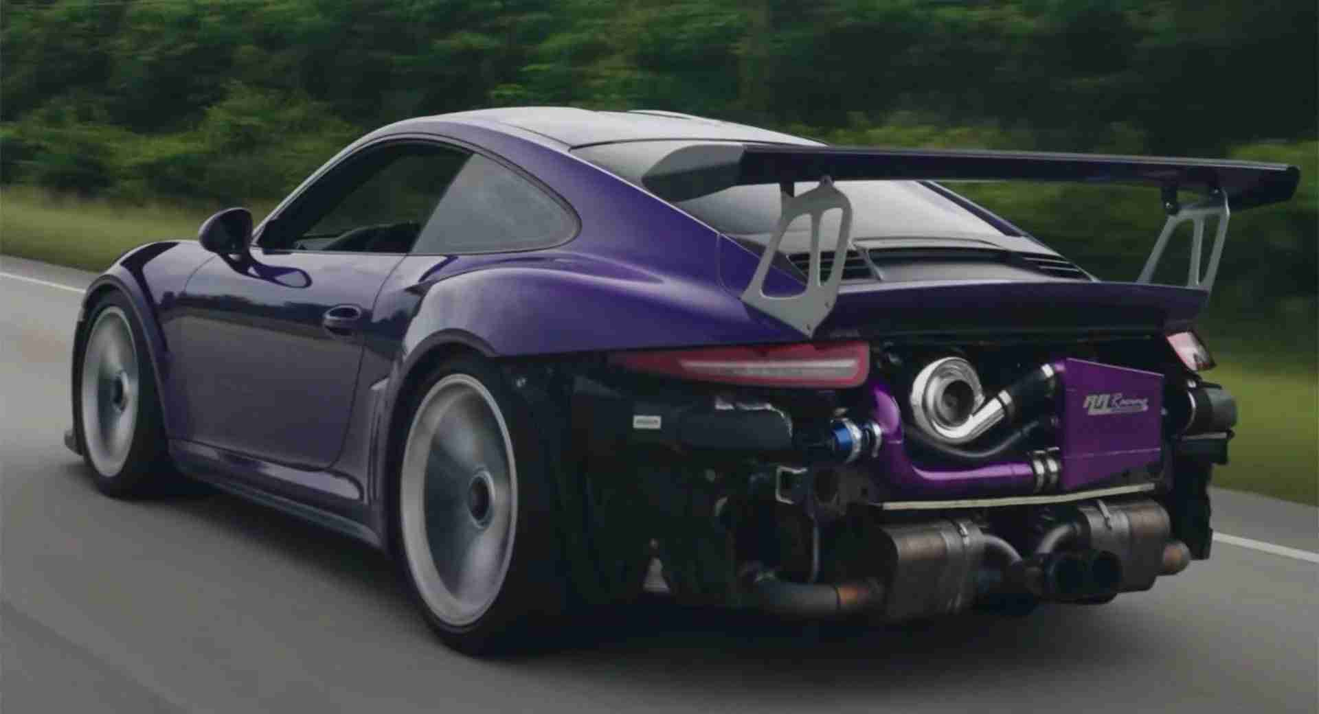 Porsche made every conceivable effort to ensure that the naturally aspirated flat-six it designed for the 911 GT3 RS was unparalleled in its class. Apparently, someone felt it could still do with a supercharger.