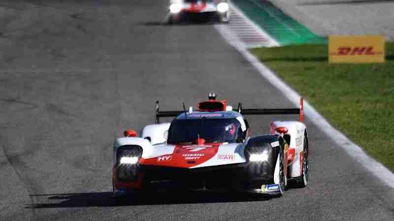 #7 Toyota GR010 Hybrid in qualifying for the 2021 Six Hours of Monza