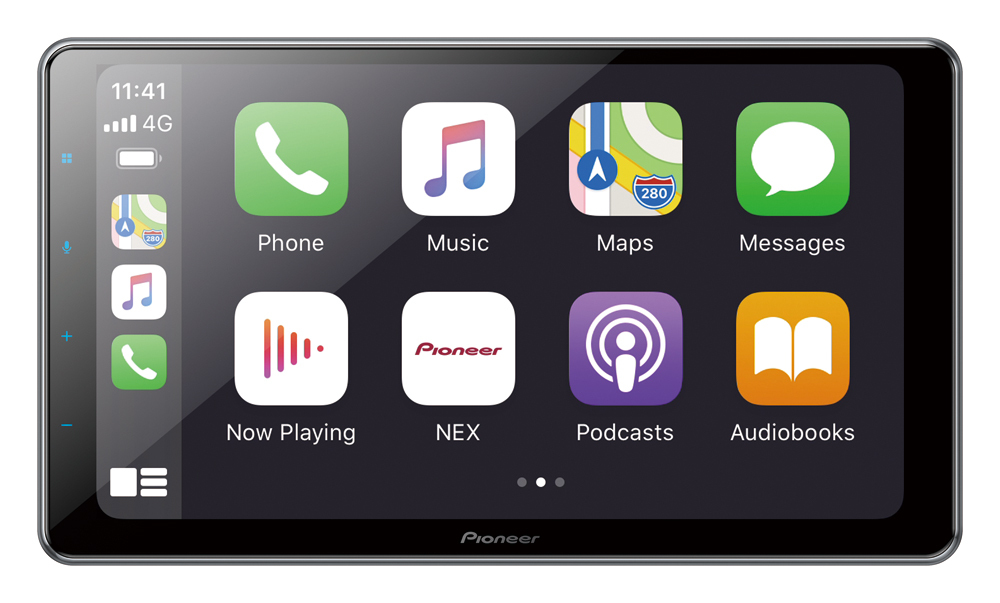 Everything you need from your iPhone on the touchscreen.