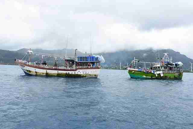 6 Sri Lankan vessels intercepted in Seychellois waters for illegal fishing in last 12 months