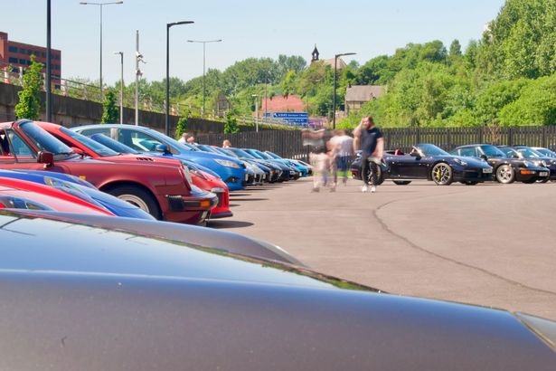 Nationwide members of the Porsche Owners' Club frequently meet at Porsche Centre Stockport