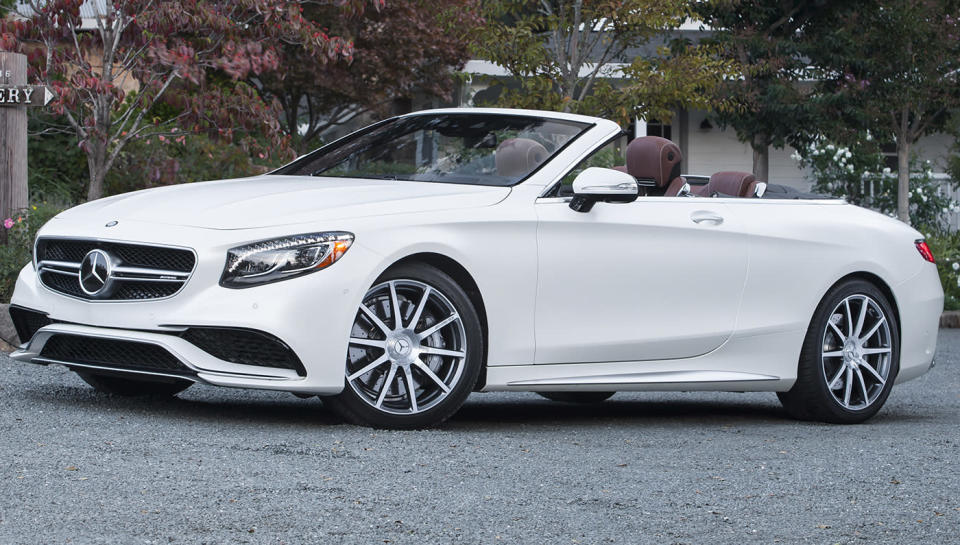 The Mercedes-Benz AMG S63 Cabriolet. - Credit: Photo by Cordero Studios