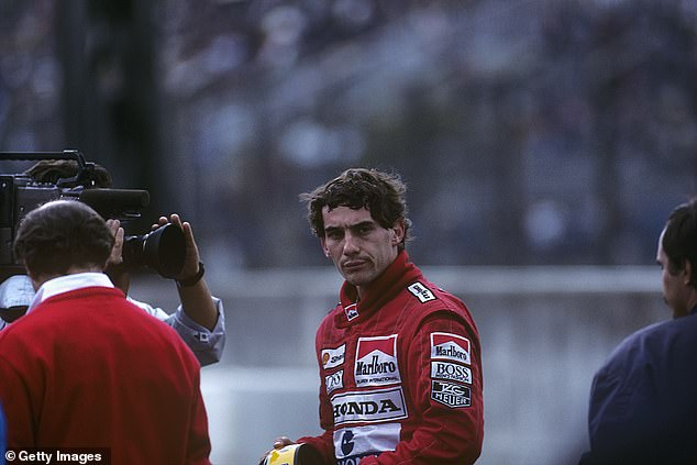 Ayrton Senna was left furious after he was disqualified from the Japanese Grand Prix in 1989