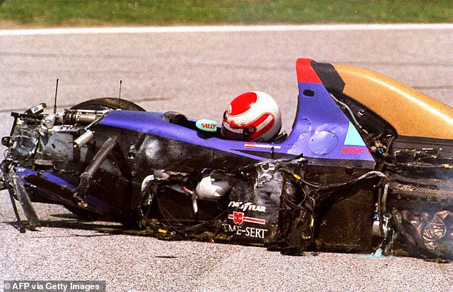 RolandRatzenberger was killed in qualifying for the San Marino Grand Prix in April 1994