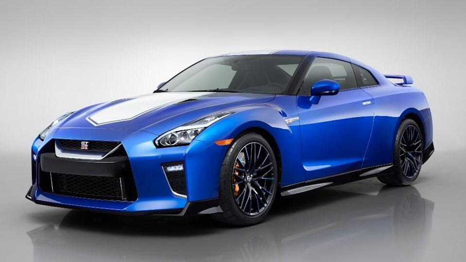 The 2020 Nissan GT-R 50th anniversary model - Credit: Nissan