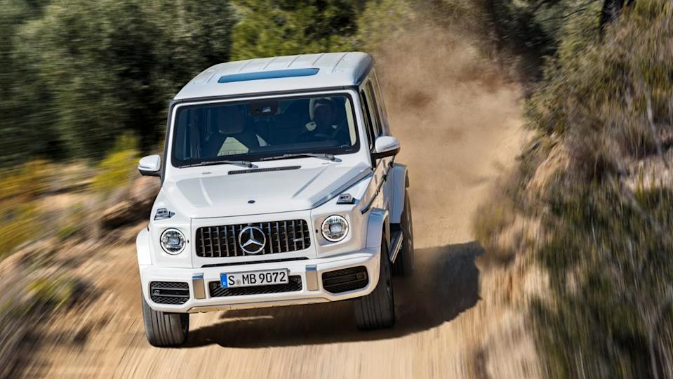 A 2019 Mercedes-AMG G63 in action. - Credit: Photo: Courtesy of Mercedes-Benz