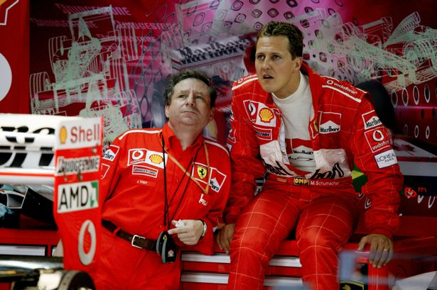 Jean Todt remains very close with the Schumacher family