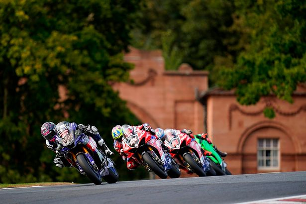 Tarran Mackenzie in action at Oulton Park in the British Superbike Championship