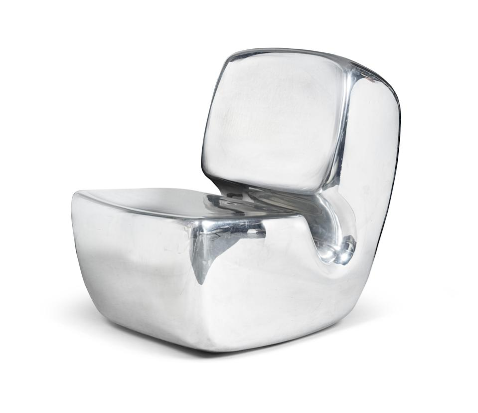 Marc Newson's chair from 2003. - Credit: Courtesy