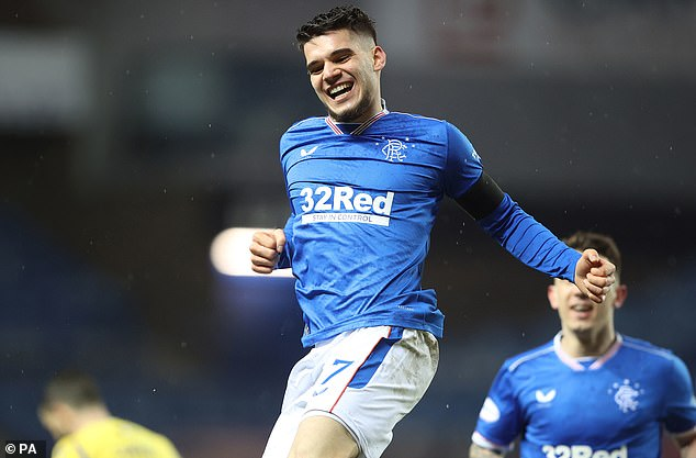 Hagi, son of legendary Romanian striker Gheorghe, joined the Ibrox side last year