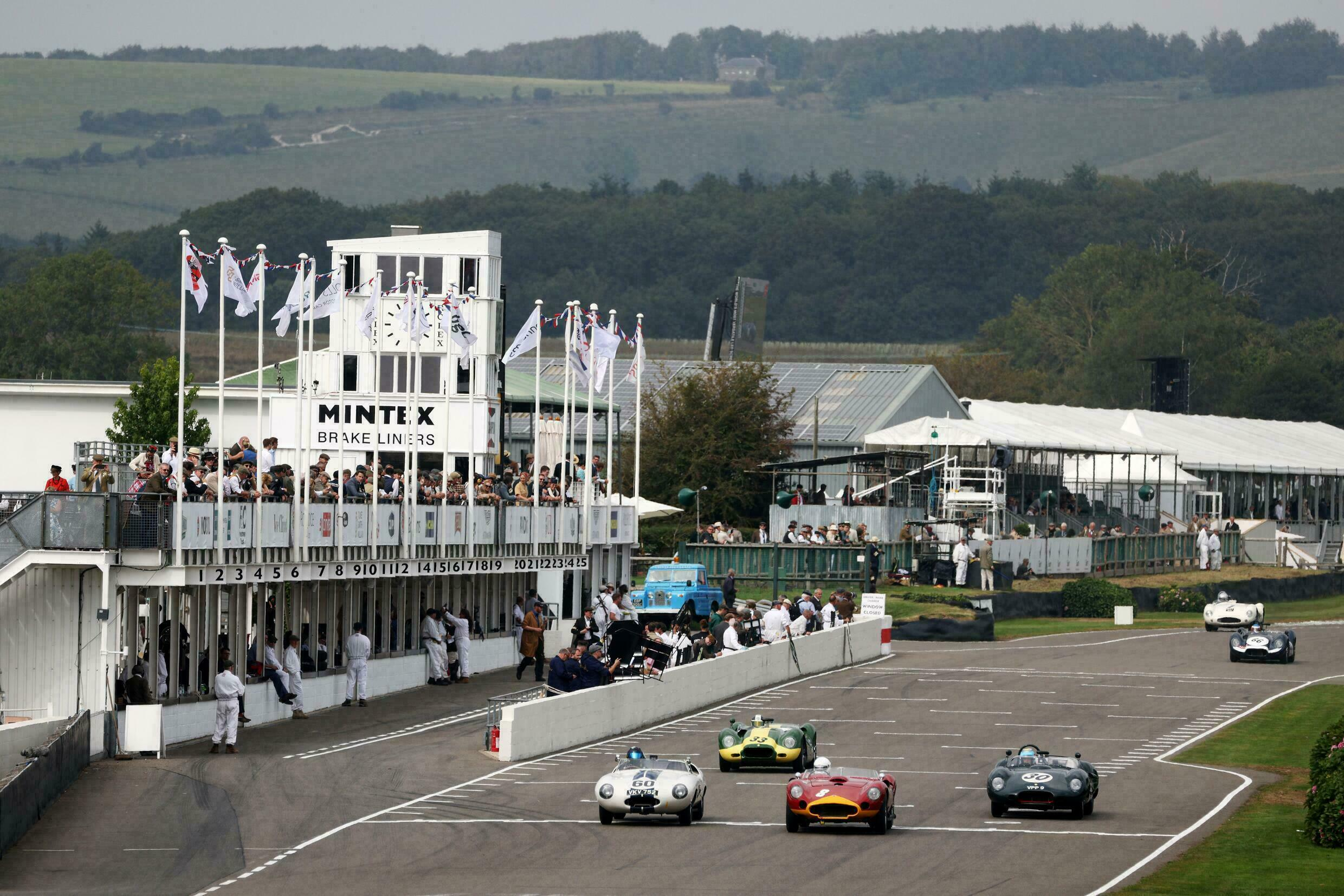 Enthusiasts bringing cars to the Goodwood Revival meeting in southern England from across the Channel faced reams of paperwork