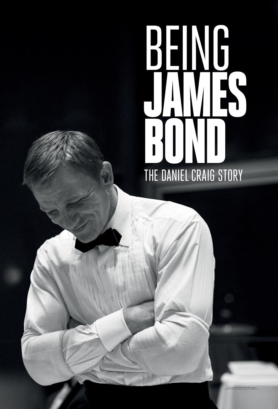 Being James Bond is an Apple TV exclusive ahead of No Time To Die (Apple)