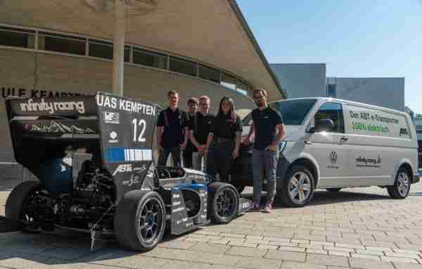 Infinity Racing goes electric - ABT e-Line supports Kempten University formula project
