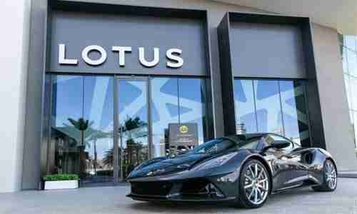 The last petrol-powered car from Lotus, Emira vrooms into Bahrain