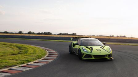 The new competition-spec Emira from Lotus
