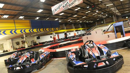Learn something new at the Anglia Indoor Kart Racing centre. Picture: CONTRIBUTED