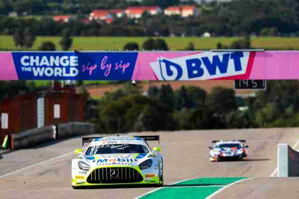 Mercedes-AMG driver Jules Gounon shines with the first fastest time at the Sachsenring