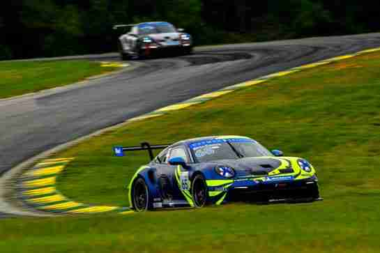 Castro Grabs Win, Dickinson Pair of Podiums For Team Hardpoint in Porsche Carrera Cup North America at Home Race