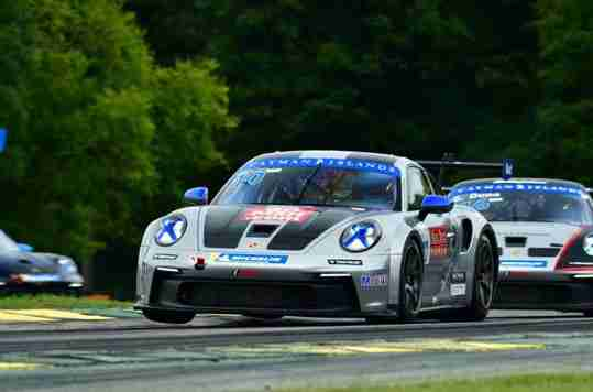 TPC Racing's Vernon McClure Picks Up Pair of Sixth-Place Finishes in Porsche Carrera Cup North America at VIR