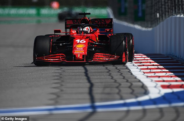 Charles Leclerc started at the back for the previous race in Russia for the same reason
