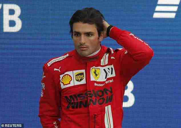 Ferrari's Carlos Sainz will start at the back of the grid for this weekend's Turkish Grand Prix
